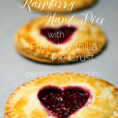 Raspberry Hand Pies With French Vanilla Pie Crust
