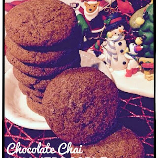 Chocolate Chai Snickerdoodle Cookies