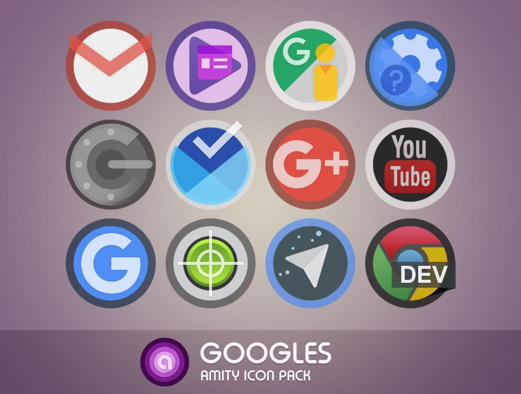 Amity Icon Pack Screenshot 2