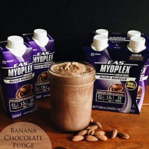 Banana Chocolate Fudge Protein Shake