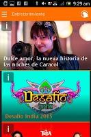Screenshot of Parlar Caracol TV