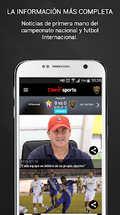 Claro Sports Ecuador - screenshot