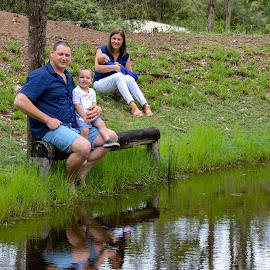 Family Reflection  by Sarah Sullivan - Novices Only Portraits & People