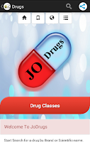 Screenshot of JoDrugs -Jordanian drugs guide
