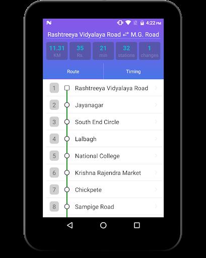 BMRCL Bangalore Metro screenshot 10