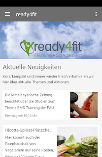Ready4fit - screenshot