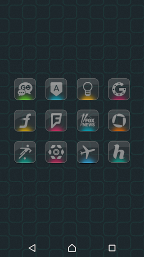 Color Gloss - Icon Pack - screenshot