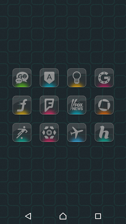Color Gloss - Icon Pack Screenshot 5
