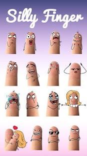 Keyboard Sticker Silly Finger APK for Bluestacks