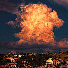sunset cloud, mexico by Jim Knoch - Landscapes Cloud Formations