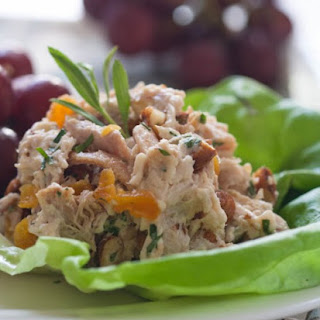 Chicken Salad with Apricots, Almonds & Tarragon
