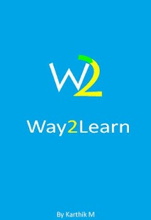 Way2Learn - screenshot