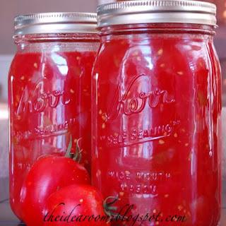 Bottling Tomatoes Recipes