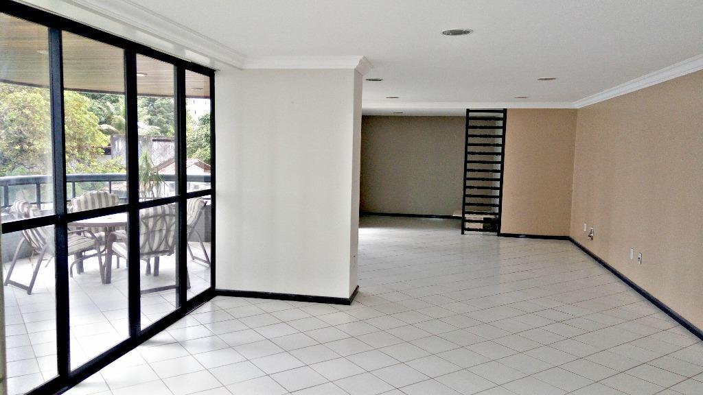 Apartamento com 4 dormitórios à venda, 360 m² por R$ 800.000 - Altiplano - João Pessoa/PB