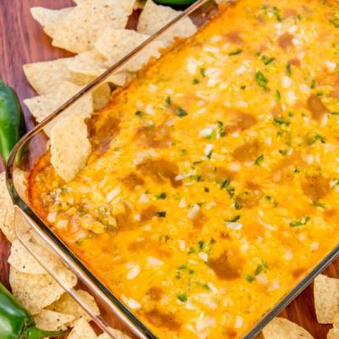 Warm And Gooey Jalapeno Bean Dip