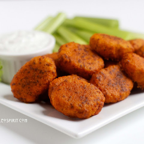 Paleo Buffalo Chicken Nuggets