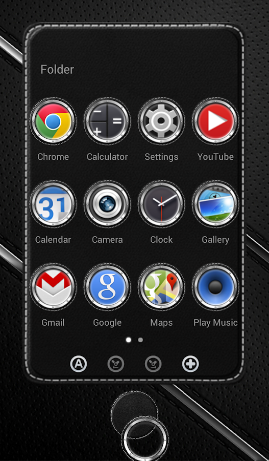 Next Launcher 3D Theme Bespoke Screenshot 1