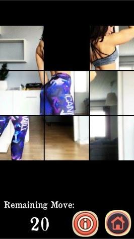 Sexy Yoga Pants 2: Hot Teens Puzzle Game Screenshot