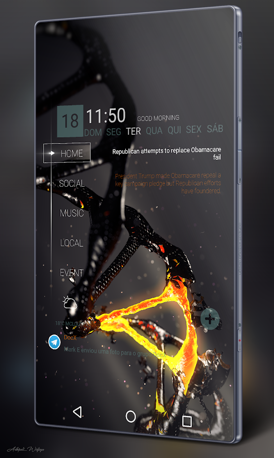 Klwp 4wall android apps download