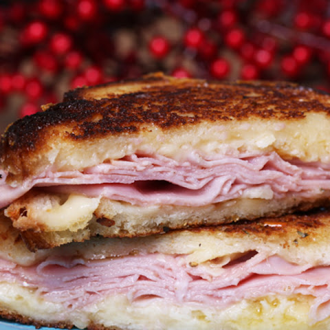 Post-Christmas Classic Grilled Ham and Cheese