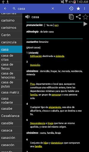 Spanish Dictionary - Offline screenshot 17