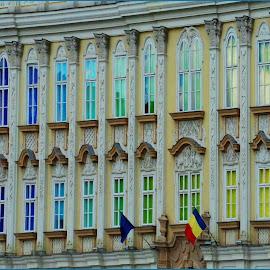 Temišvar 2018. No2 by Jasminka Nadaskic Djordjevic - Buildings & Architecture Architectural Detail ( street, buildings, romania, windows, colors,  )