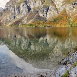 Lake Bohinj 1 by Igor Gruber - Landscapes Beaches