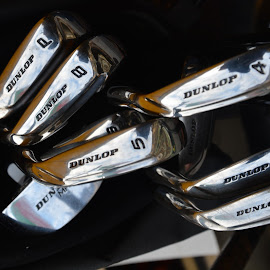 golf clubs by Dean Moriarty - Sports & Fitness Golf ( dunlop, irons, golf, stainless, steel, clubs,  )