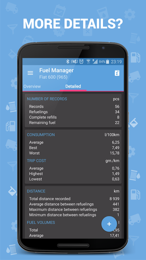 Fuel Manager (Consumption) Screenshot 5
