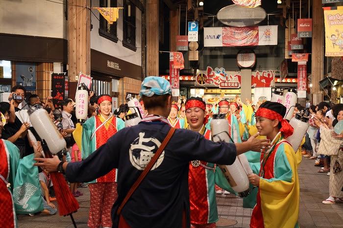 第61回よさこい祭り☆本祭2日目・はりまや橋競演場7☆上1目1415