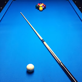 Nine by Willis Semans II - Sports & Fitness Cue sports ( billiards, pool hall, cue stick, pool, nine ball, pool table )