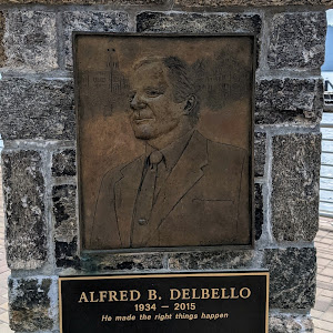 ALFRED B. DELBELLO 1934-2015 He made the right things happen YONKERS MAYOR WESTCHESTER COUNTY EXECUTIVE NEW YORK STATE LIEUTENANT GOVERNORSubmitted by @lampbane