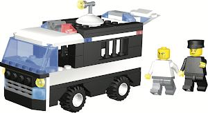 """Конструктор SuperBlock """"Police"""" Полицейский фургон XL"""