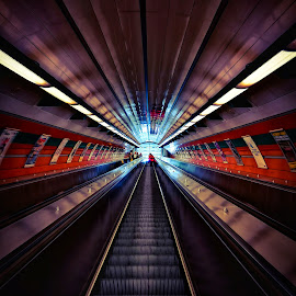 Subway  by Michal Kostka - Instagram & Mobile Android ( huawei, subway, czech republic, praha, prague )