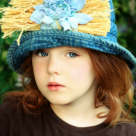 What are you looking at? by Cheryl Korotky - Babies & Children Child Portraits