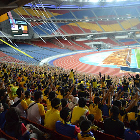 Ultras Malaya by Hazmi Anas - Sports & Fitness Soccer/Association football ( malaysia, ultrasmalaya )