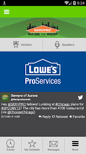 SERVPRO Convention 2015 - screenshot