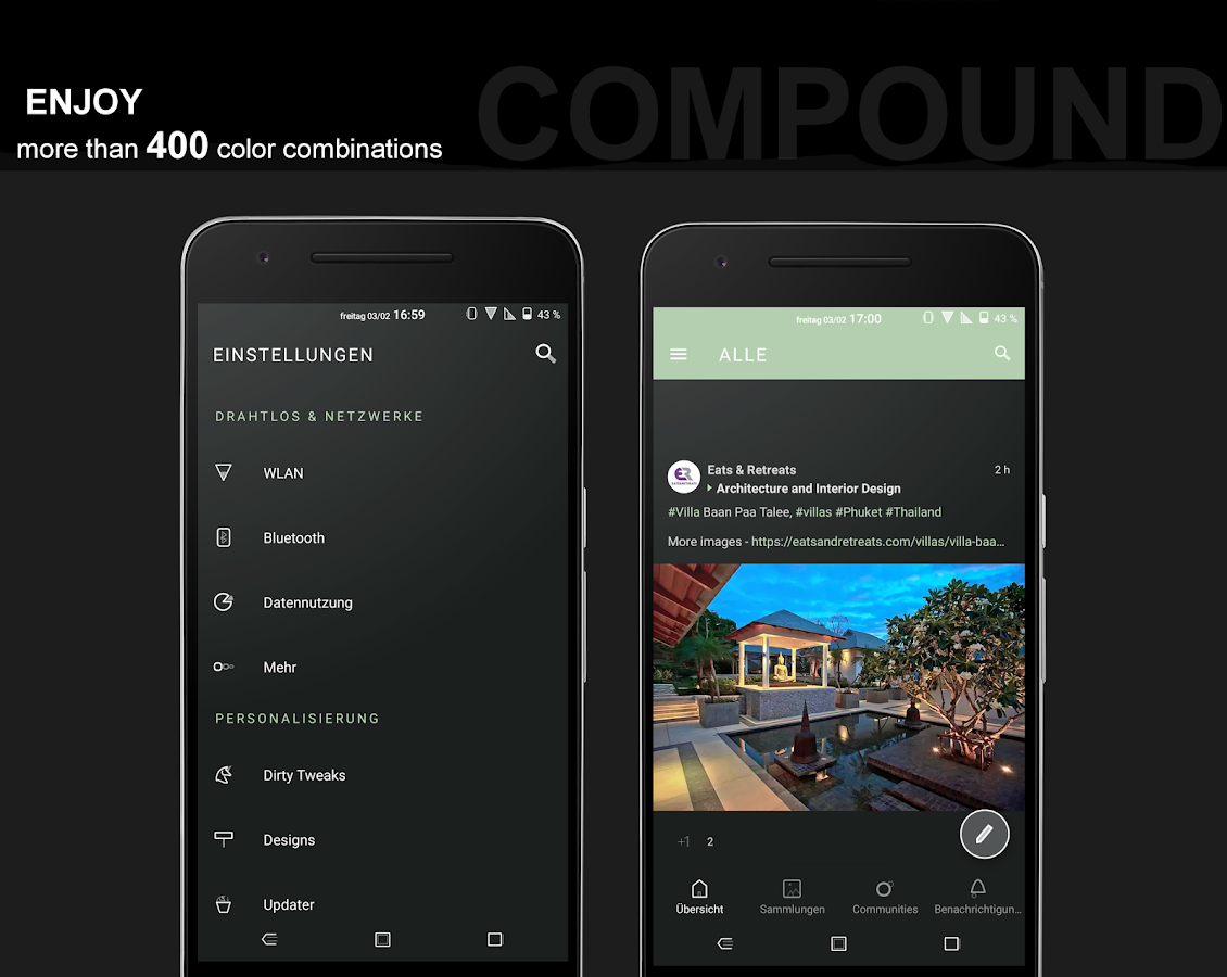 Compound for Substratum (Android Oreo/Nougat) Screenshot 4