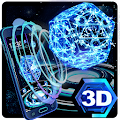 App Neon Pentagon 3D Theme apk for kindle fire