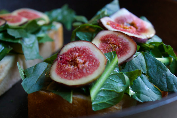 Dandelion, Fig & Brie Grilled Cheese Recipe   Yummly