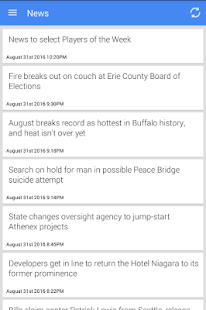Buffalo News - screenshot