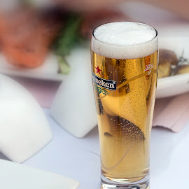 Golden drink by Carla Coanda - Food & Drink Alcohol & Drinks ( beer, drink, glass, summer, gold, golden,  )