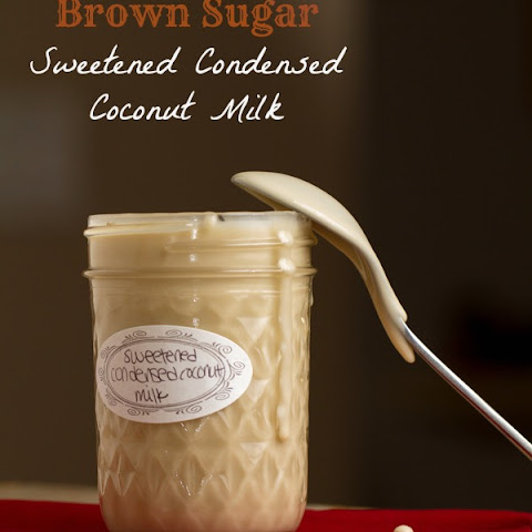 Brown Sugar Sweetened Condensed Coconut Milk