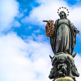 Column of the Immaculate Conception by Terrance Hughes - Buildings & Architecture Statues & Monuments