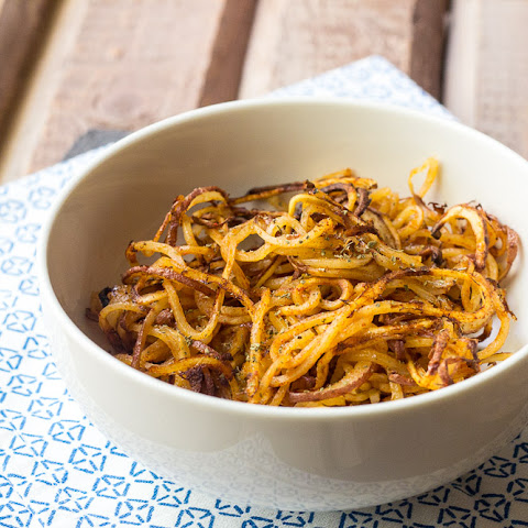 Spicy Spiralized Potatoes