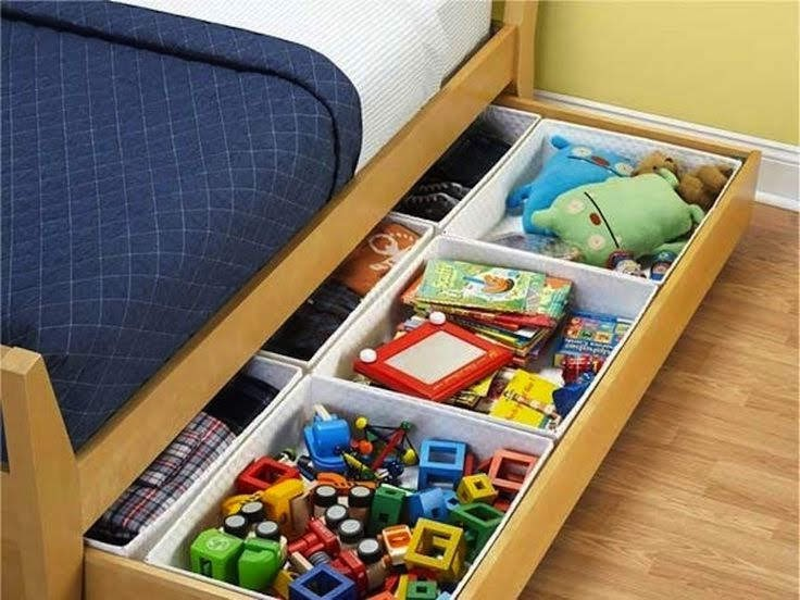storage ideas for toys in family room