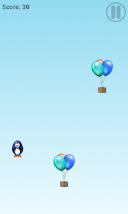 super penguin jumper - screenshot