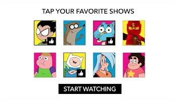 Screenshot of Cartoon Network App