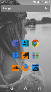 Glim Dark - Icon Pack- screenshot thumbnail
