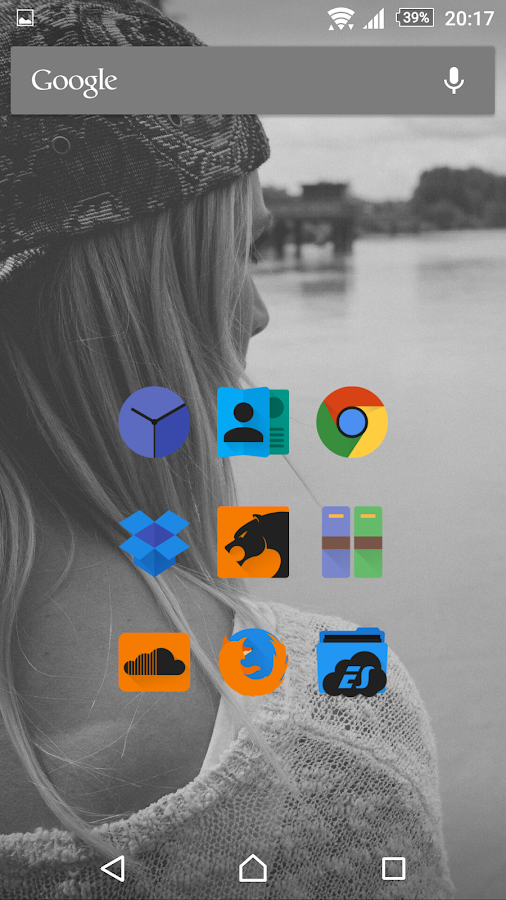 Glim Dark - Icon Pack Screenshot 4